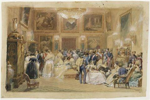 Une soirée chez le duc d'Orléans