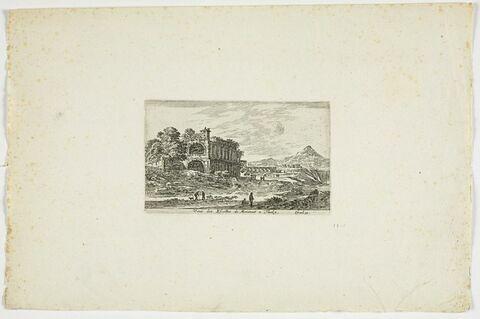 Vu des Ecuries de Mécène à Tivoli