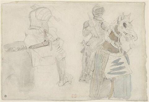 Deux études d'armure de la collection Meyrick
