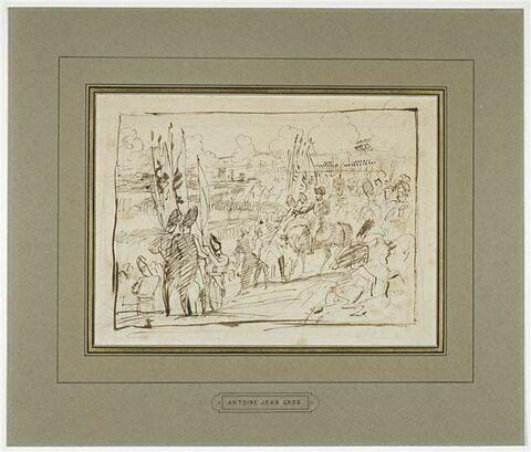 La Reddition de la ville d'Ulm, le 20 octobre 1805