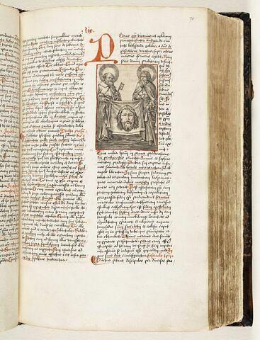 Saint Pierre et sain Paul avec la sainte Face