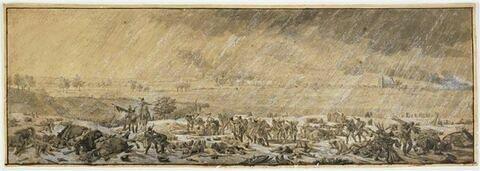 Eylau sous la neige, le 8 février 1807